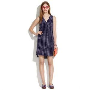 Madewell Silk Dot Dress